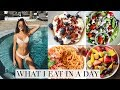 WHAT I EAT IN A DAY IN SUMMER! | How to eat healthy