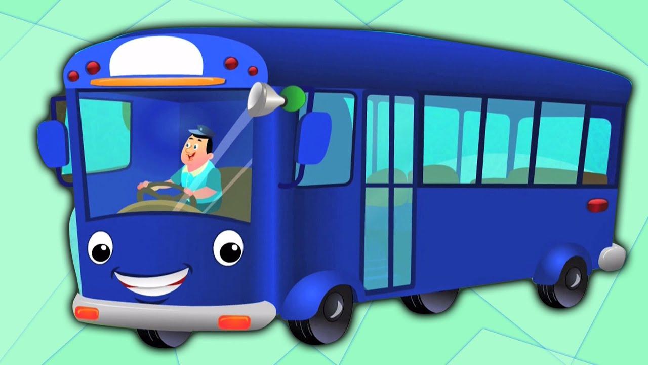 Rodas No Onibus Desenhos Animados Para Criancas Rima Popular