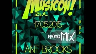ANT BROOKS  PROMO MIX LOCOS X EL MUSICON ZUL  (17th May 2015)