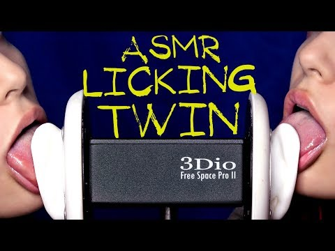 АСМР Ликинг 4к👅 ASMR Ear Licking TWIN 4k 👅 3Dio 👅 3Дио 👅АСМР Кушаю ушки👅 ASMR EAR EATING