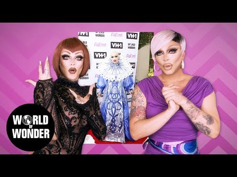 FASHION PHOTO RUVIEW: Morgan & Raven on RuPauls Drag Race Season 9 Episode 14 Red Carpet Finale