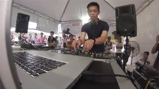 Reeve-O Final set Brunei DJ competition 2013