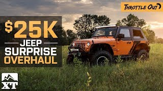 Jeep Wrangler JK $25k Jeep Overhaul for Officer + Superchips Flashpaq F5 Review! - Throttle Out