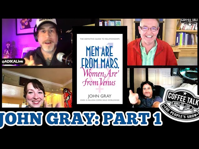 #1279 How Did the Beatles & the Maharishi Influence Best Selling Author John Gray (Part 1)