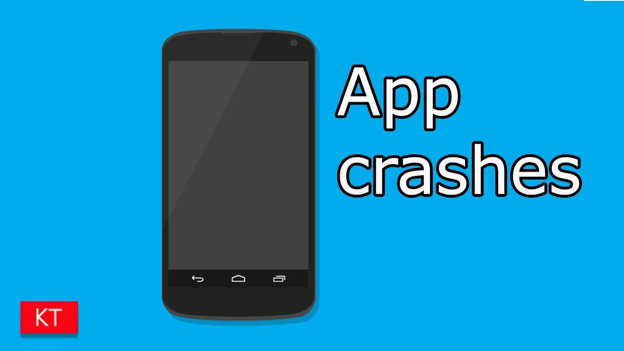 Apps keeps crashing in android