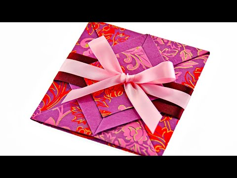 Valentines Day Handmade Origami Card Message of love can
