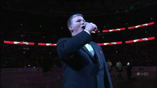 [HD] Chicago Blackhawks vs Vancouver Canucks Game 4 Anthems