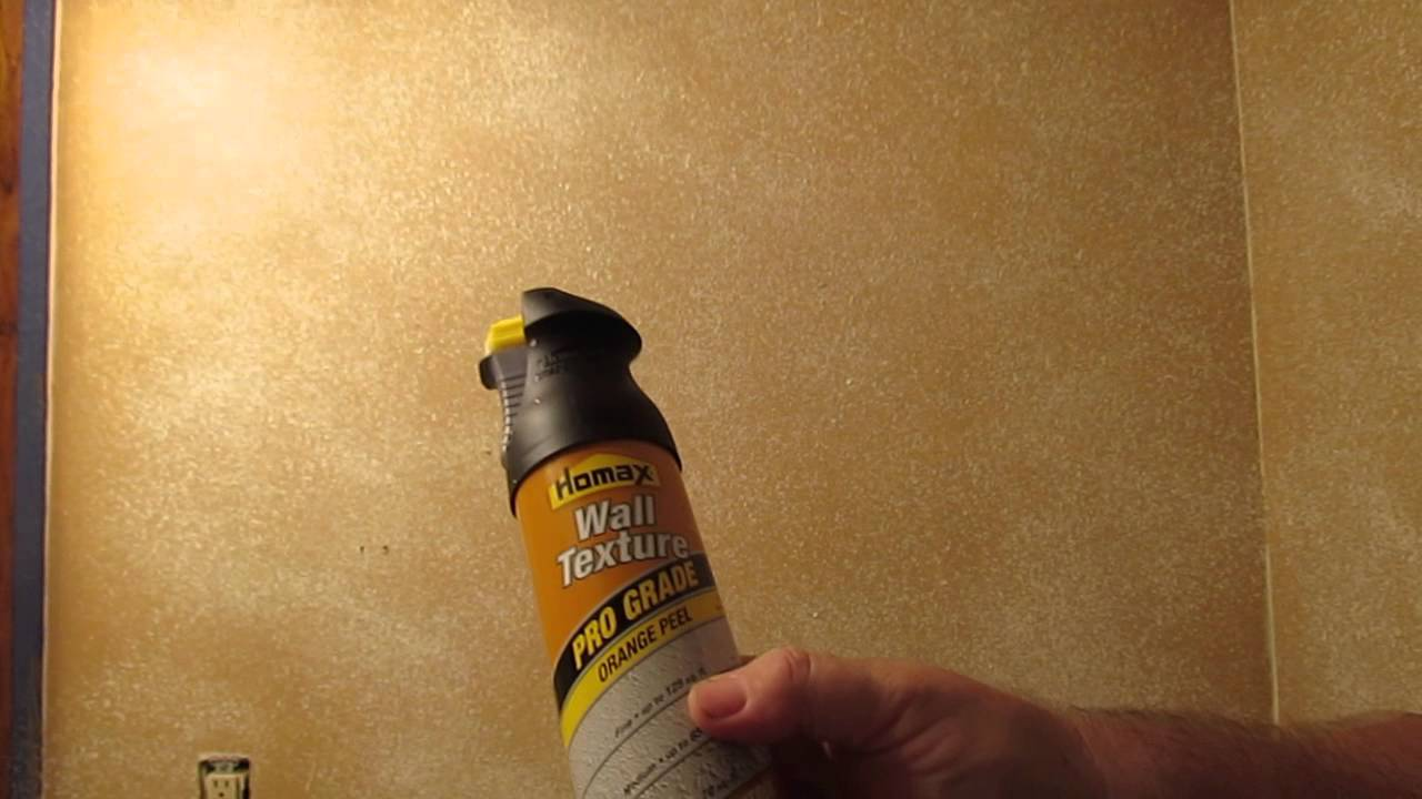 Homax Spray Texture Review