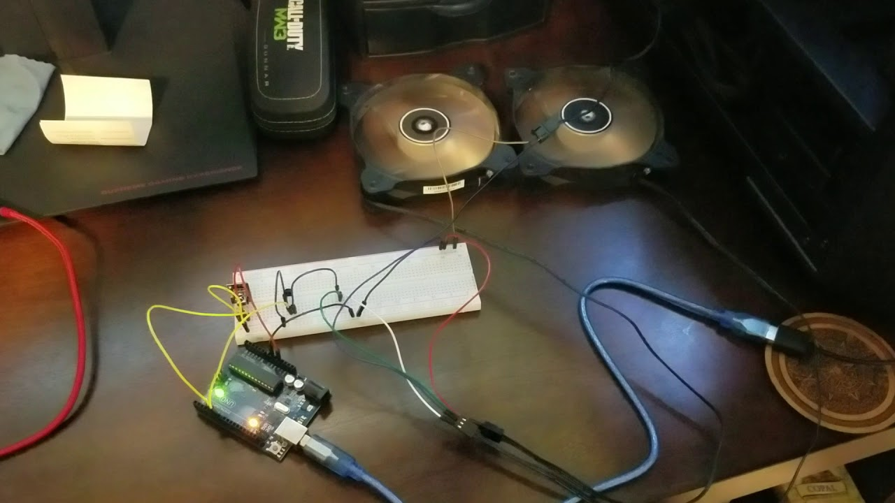Arduino Fan Control Via Ir Remote Youtube Circuit