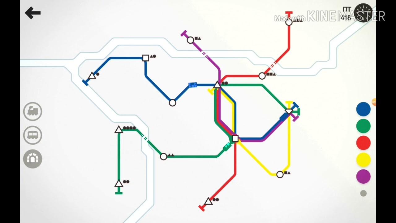 Mini Metro-Строим метрополитены