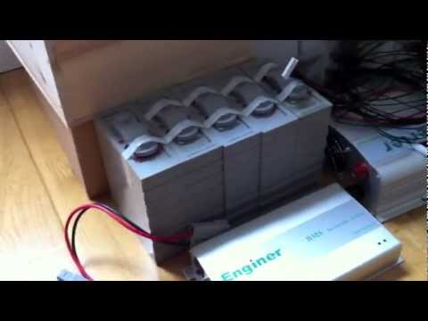 LiFePO4 Battery Bank / Solar Energy Storage System – 2