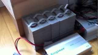 LiFePO4 Battery Bank / Solar Energy Storage System - 2