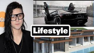 Skrillex DJ Lifestyle,Girlfriend,Net Worth,House,Car,Family,Height,Weight,Age,Biography 2018