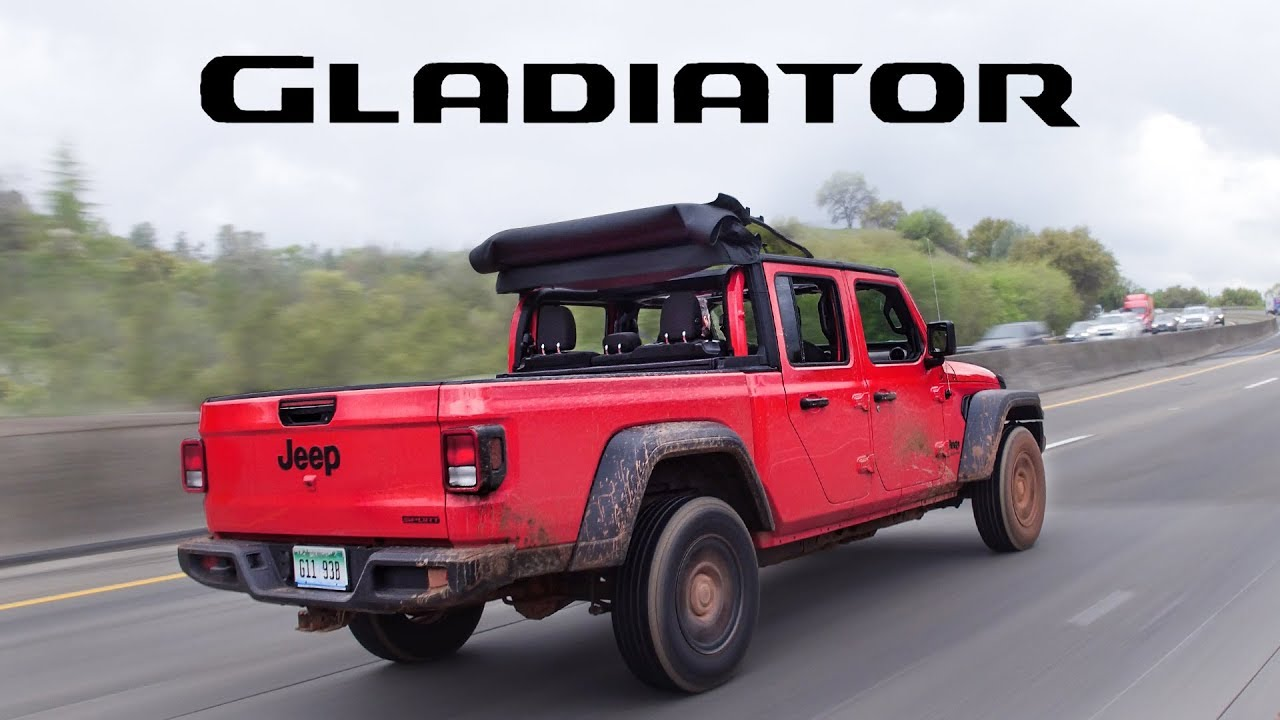 Jeep With Truck Bed >> 2020 Jeep Gladiator Review More Than A Wrangler With A Bed
