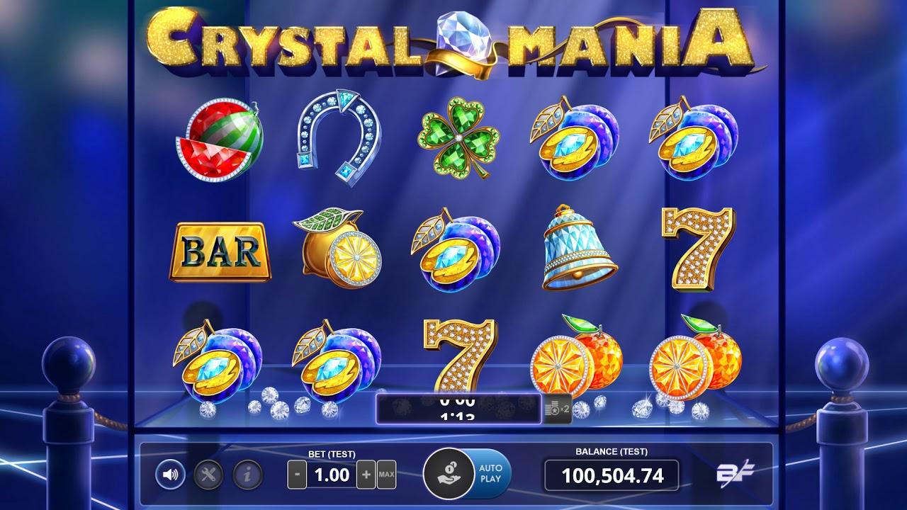 cc6f7d5574fc Crystal Mania | Video Slot | BF Games