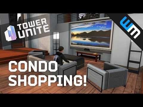 Tower Unite Gameplay - Condo Accessory Shopping!