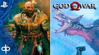GOD OF WAR 4 ARMADURA LEGENDARIA | Mision Secundaria Salve al Rey + Dragon REGINN (God of War)