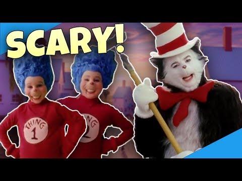 CAT IN THE HAT: The SCARIEST Kids Movie? - Diamondbolt