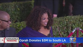 Oprah Donates $3M To Provide Scholarships For South LA Residents Impacted By COVID-19