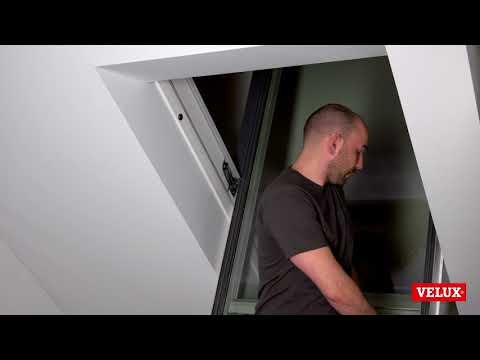 Resetting A Velux Integra Electric Roof Window Youtube