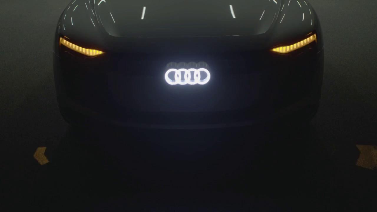 2018 Audi E Tron Concept Light Animation