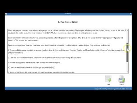 Debt Settlement-Do It Yourself Credit Software
