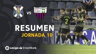 Resumen de CD Tenerife vs Extremadura UD (1-2)