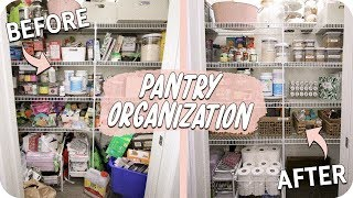 Pantry Organization! How to Organize your Kitchen!
