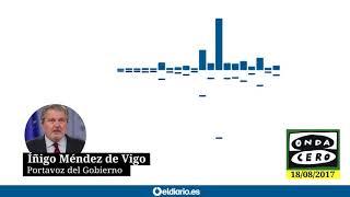 """Méndez de Vigo asegura que hay que """"sobreponerse"""" y ayudar a las víctimas"""