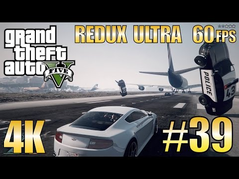 "GTA V Redux Ultra Story Mode ""Legal Trouble"", ""Lamar Down"" part 39 - Ultra HD 4K 60fps"