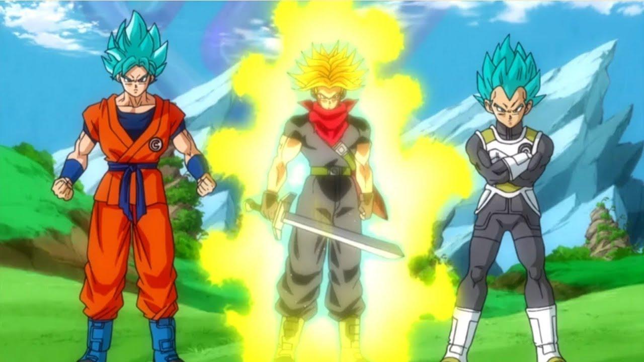 New dragon ball heroes anime future trunks returns series details