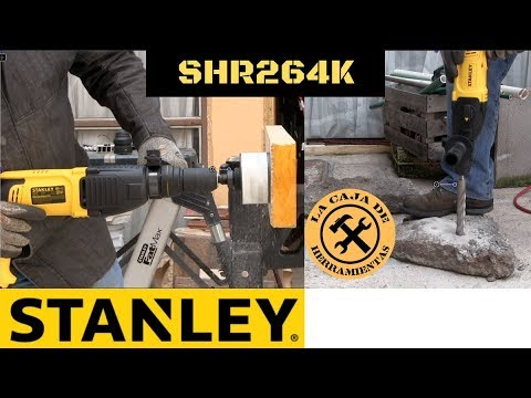 Rotomartillo SDS Plus Stanley SHR264K