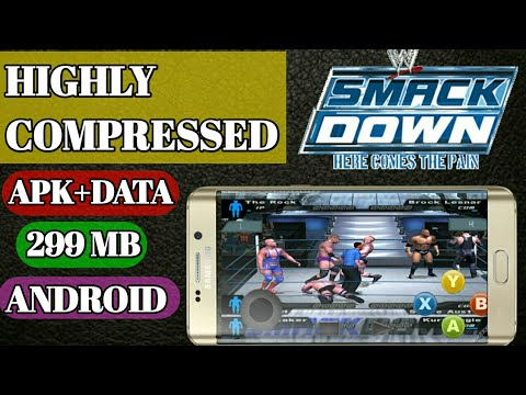 WWE SMACKDOWN PAIN GAME  299 MB  [HIGHLY COMPRESSED] - YouTube