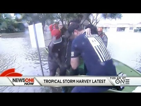 Tropical Storm Harvey Latest: More Evacuations Ordered, Flood Waters Fill Streets
