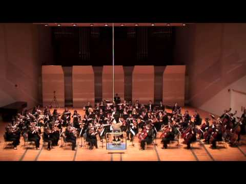 Beethoven, 5th Symphony, Mvt. 2, Crane Symphony Orchestra, guest conductor Gunther Schuller