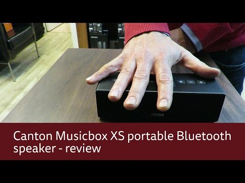 Canton Musicbox XS portable Bluetooth speaker review
