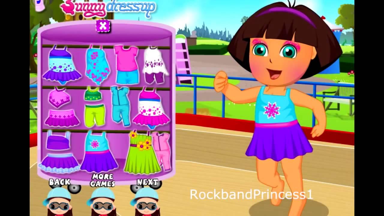 Dora Dress Up Games for Girls