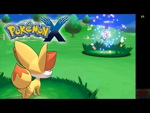 Pokemon X (In-Game, but Issues) - Citra Emulator (CPU JIT) [1080p HD] - Nintendo 3DS - 동영상