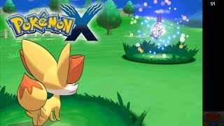 Citra Emulator (CPU JIT) | Pokemon X (In-Game, but Issues) [1080p HD] | Nintendo 3DS