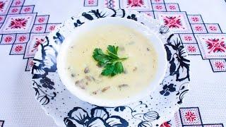 ПЛАВЛЕНЫЙ СЫР рецепт с грибами Домашний сыр своими руками ПЛАВЛЕНИЙ СИР рецепт з грибами