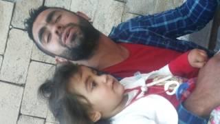 Hakkı erdoğan- kürtçe harika ses - viranşehir delal lé lé ané delal baba söylüyor kızı dinliyor