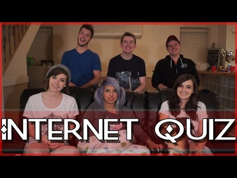 Youtuber Internet Quiz!