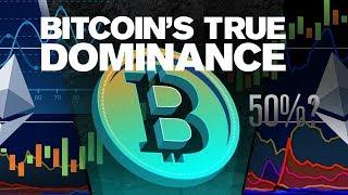 Bitcoin Dominance Exposed! Coinmarketcap Lies? 80% or 50%?
