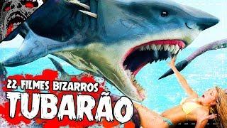 22 Filmes BIZARROS de TUBARÃO | Sharknado, Fantasma