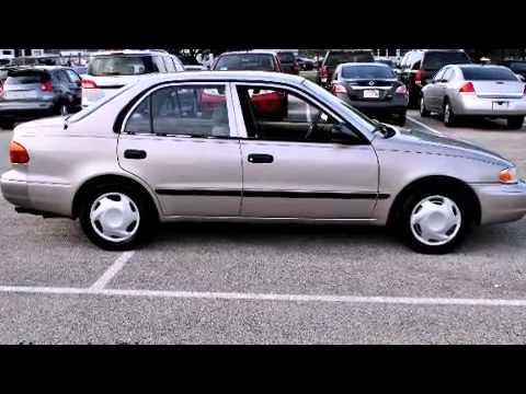 2000 Chevrolet Prizm FRANKLIN IN - YouTube