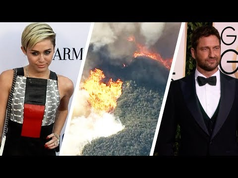 Miley Cyrus and More Stars Lose Their Homes in California Wildfires