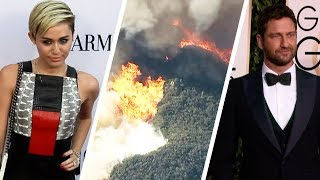 Video Miley Cyrus and More Stars Lose Their Homes in California Wildfires download MP3, 3GP, MP4, WEBM, AVI, FLV November 2018