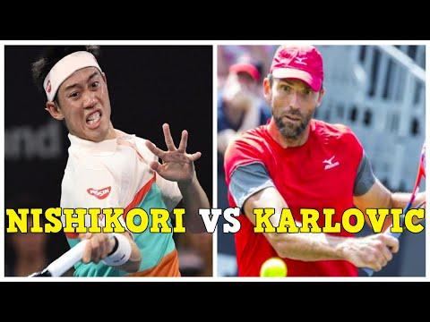 Kei Nishikori [錦織 圭] vs Ivo Karlovic Highlights