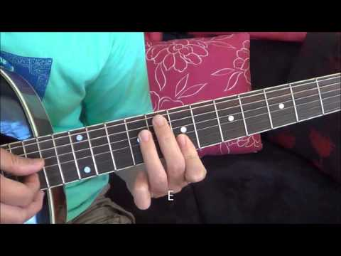 The Climb Miley Cyrus Guitar Cover Basic Fingerstyle Tutorial