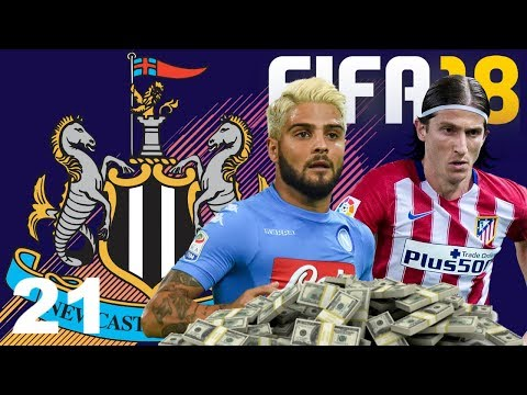 FIFA 18 - Newcastle Career Mode #21 - FINANCIAL TAKEOVER